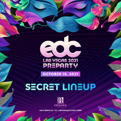 EDC Las Vegas Pre-Party (Secret Lineup)