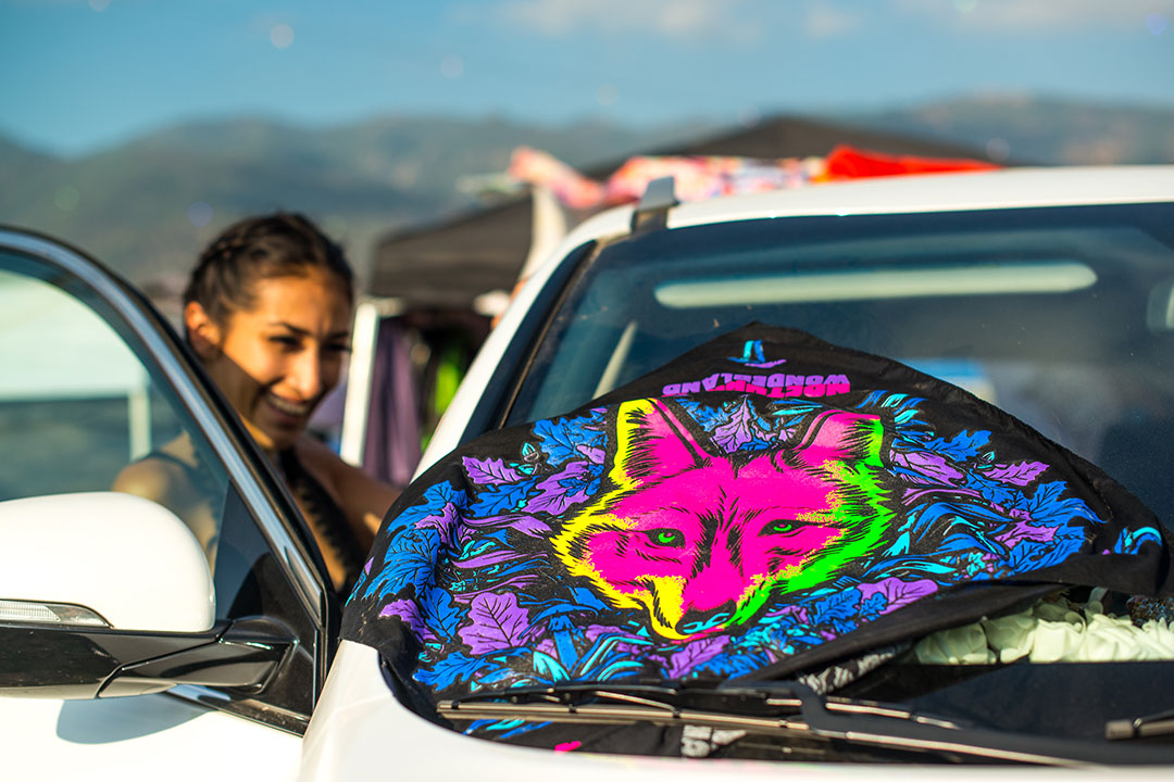 How will you use your Nocturnal Wonderland bandana?