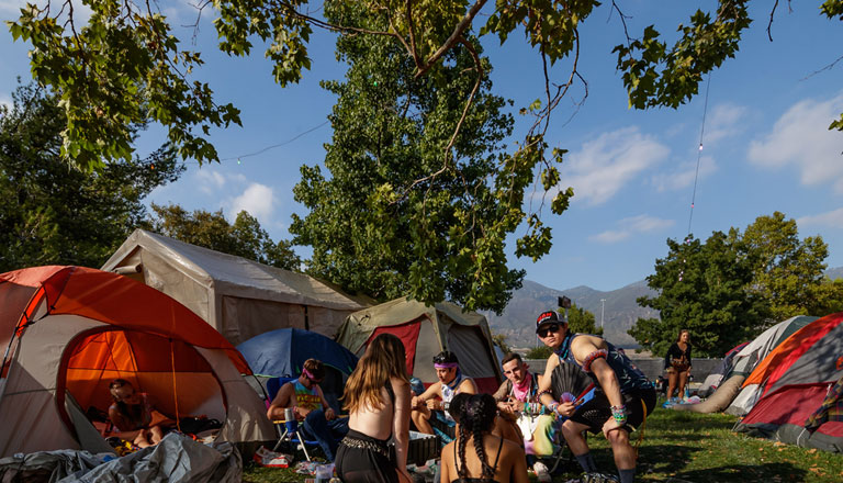 Tent Camping Header