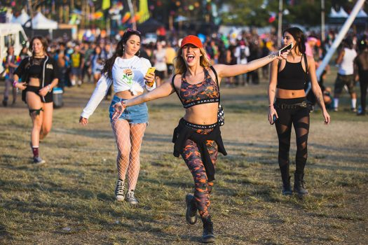 Happy Headliners walking