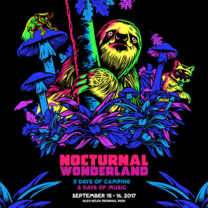 Nocturnal Wonderland 2017 key art