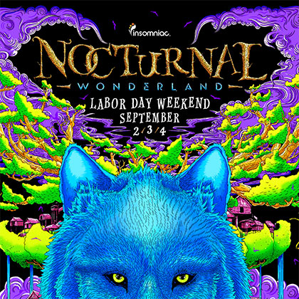 Nocturnal Wonderland 2016 key art