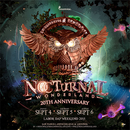 Nocturnal Wonderland 2015 key art