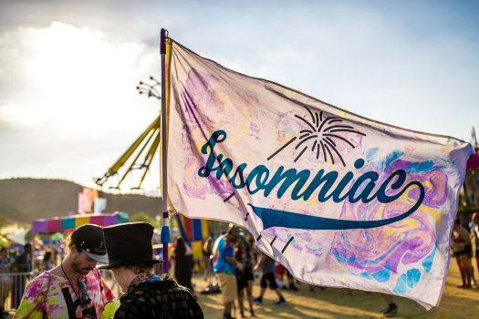 An Insomniac flag