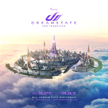 Dreamstate San Francisco 2017 key art