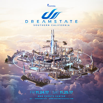 Dreamstate SoCal 2017 key art