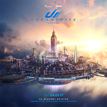 Dreamstate UK 2017 key art
