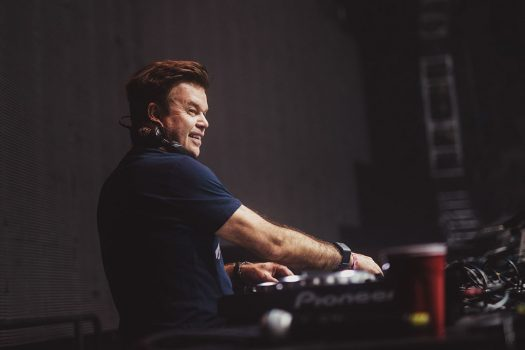 Paul Oakenfold at the decks