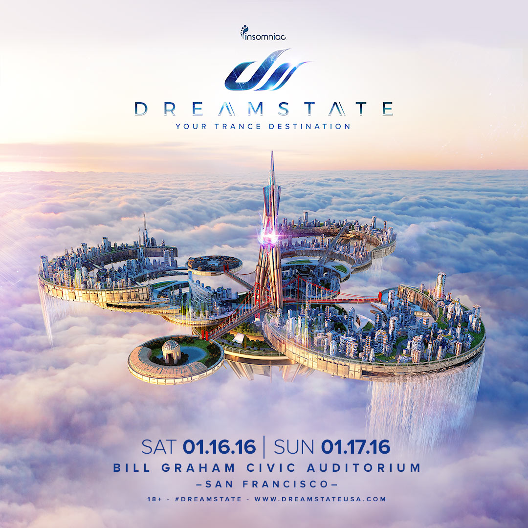 Dreamstate San Francisco 2016 key art