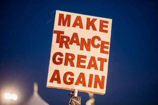 """Make Trance Great Again"" totem"