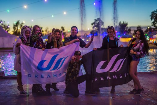 Headliners with Dreamstate flags