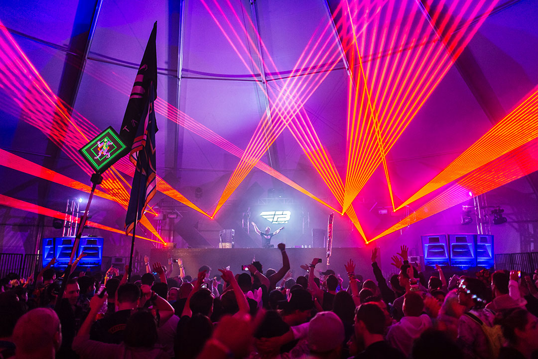 Timeless stage at Dreamstate SoCal 2017