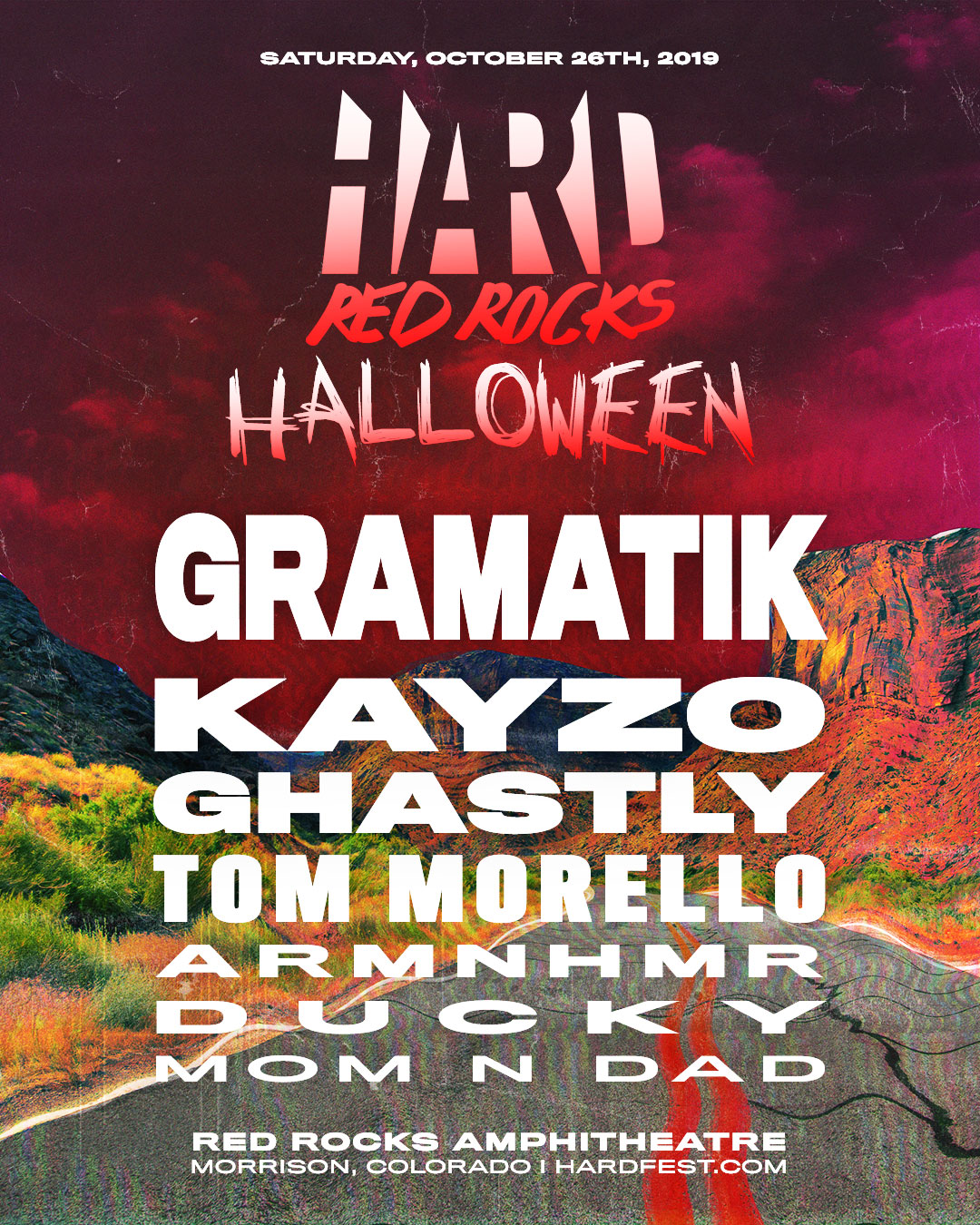 HARD Red Rocks artwork