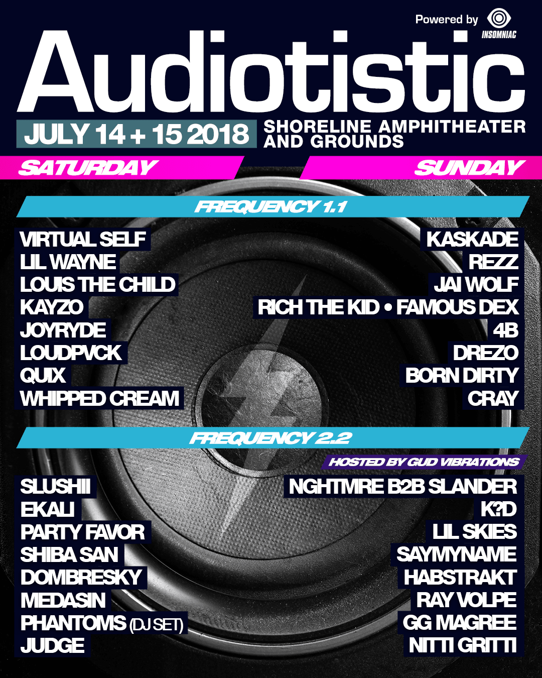 Audiotistic Bay Area 2018