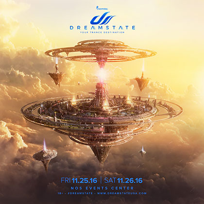 Dreamstate SoCal 2016 key art