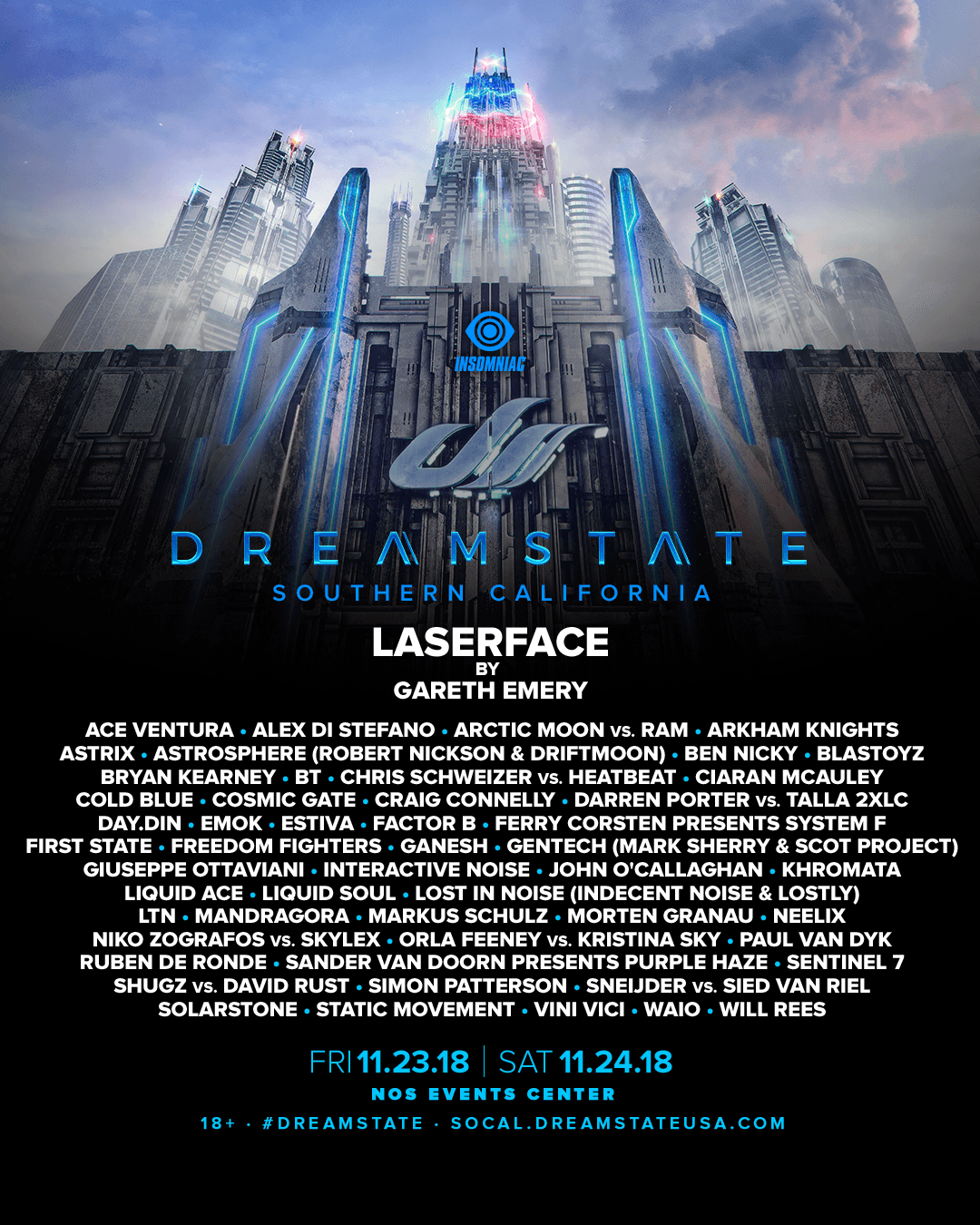 Dreamstate Socal 2018 Lineup