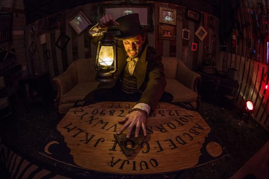 The Hatter with a Ouija board