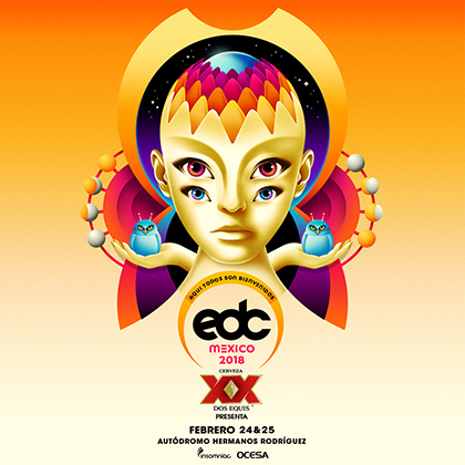 EDC Mexico 2018 key art