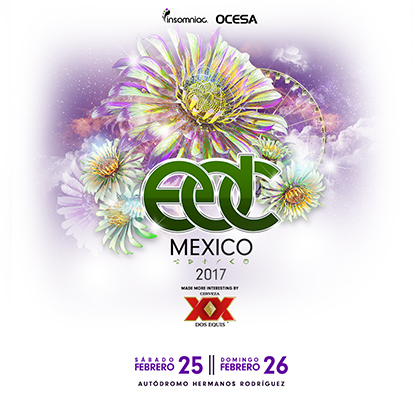 EDC Mexico 2017 key art
