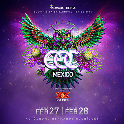 EDC Mexico 2016 key art