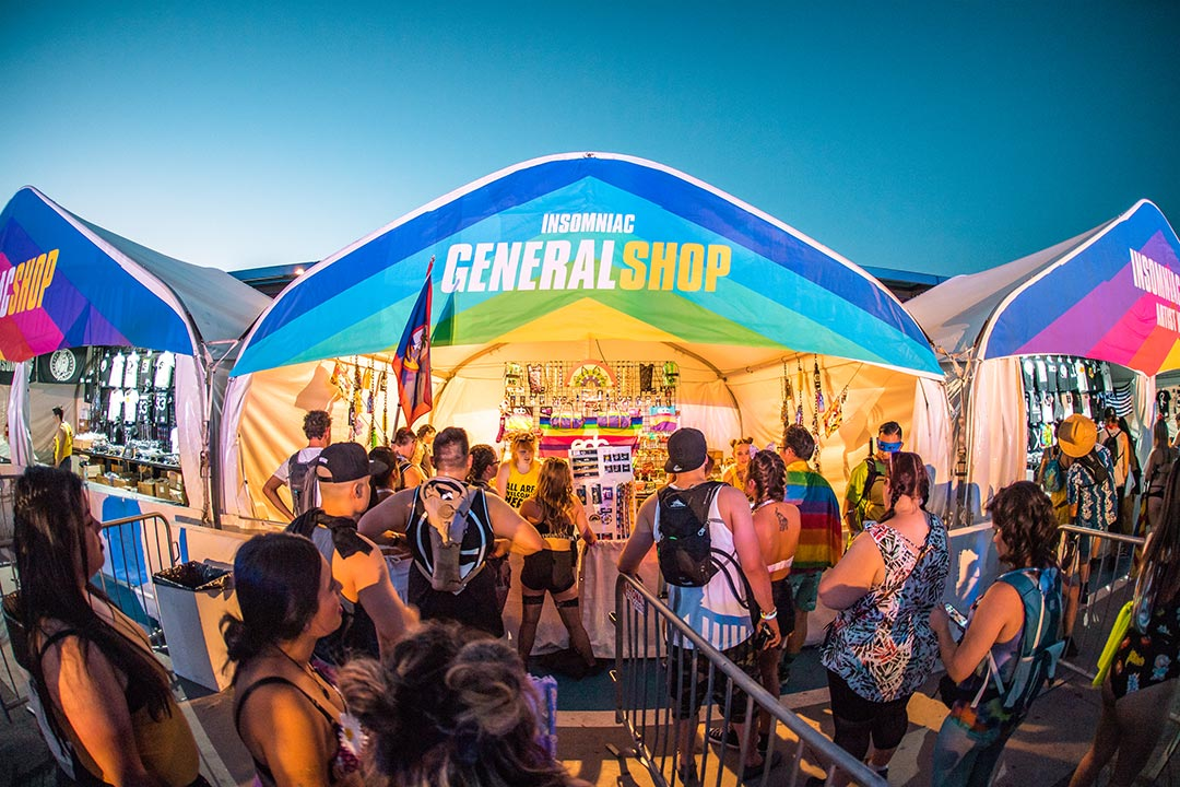 Head into our General Store for all your festival essentials, snacks, and refreshments.