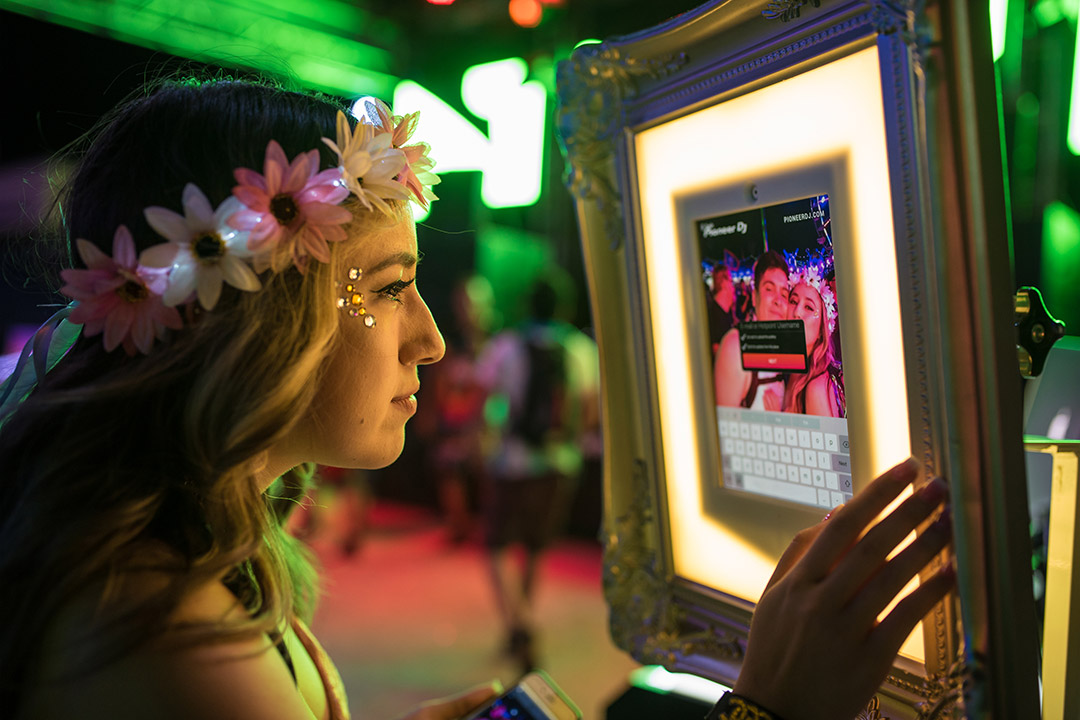 Check out our interactive EDC VIP photos ops.