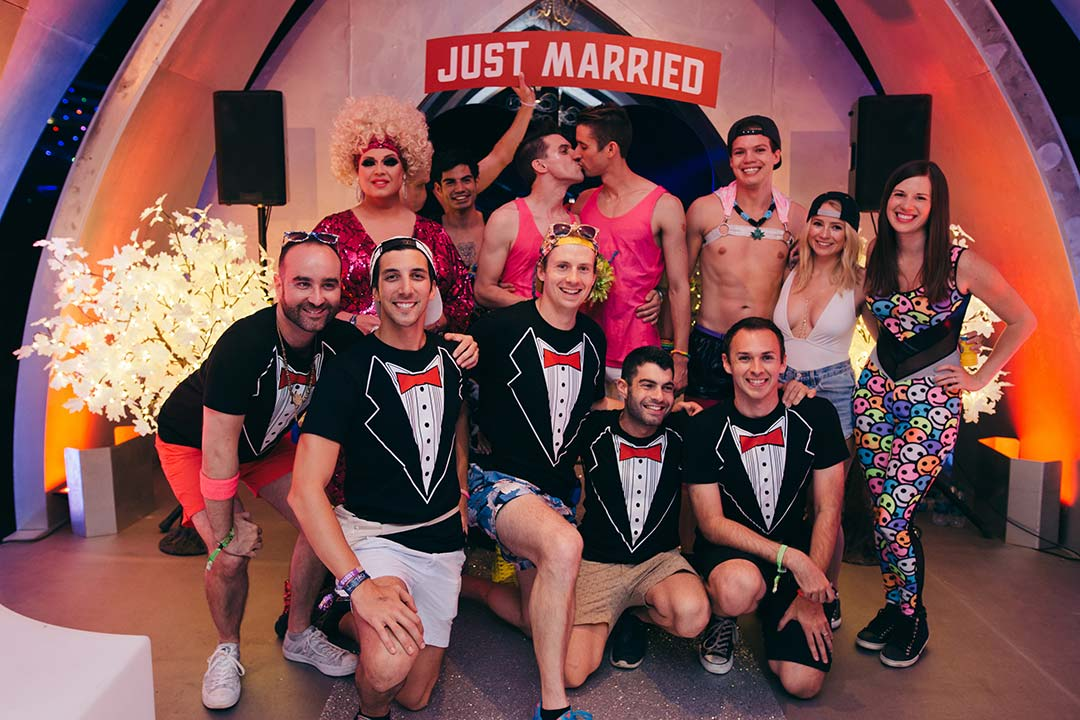 This is how EDC does bridal parties.