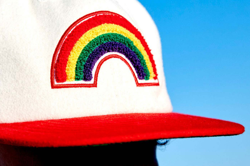 Limited-edition EDC Rainbow Cap.