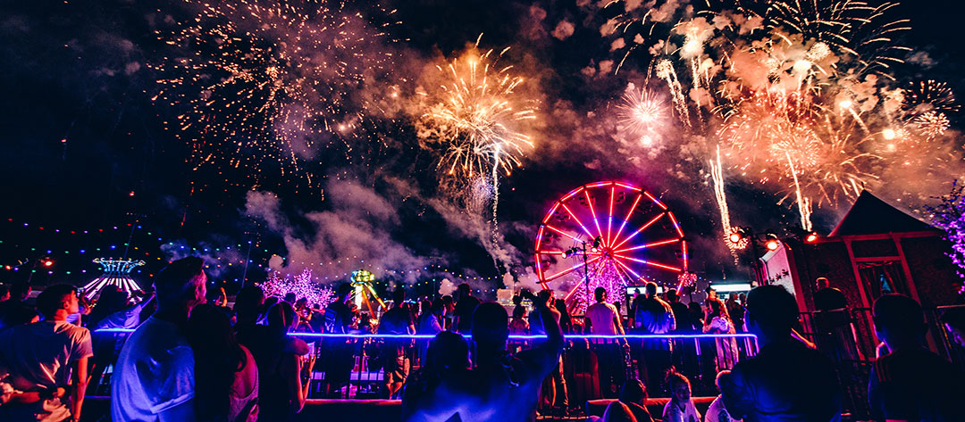 EDC Las Vegas Fireworks