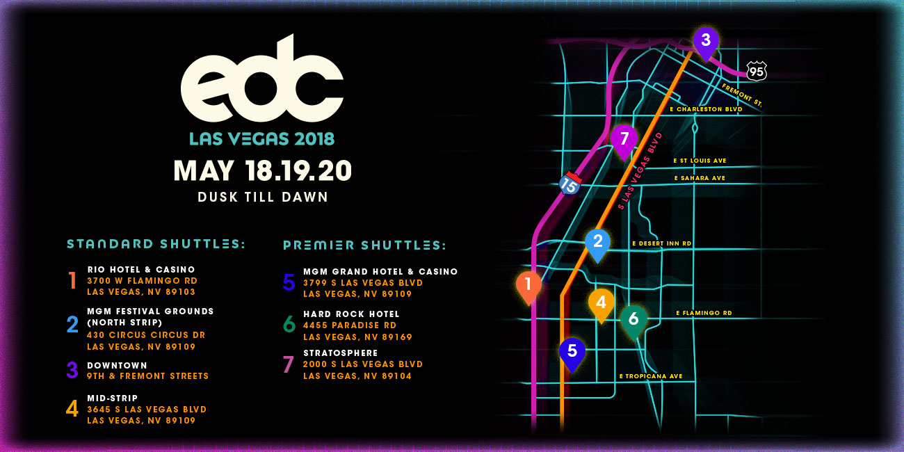 EDC Has Released The Info On Their New Shuttles