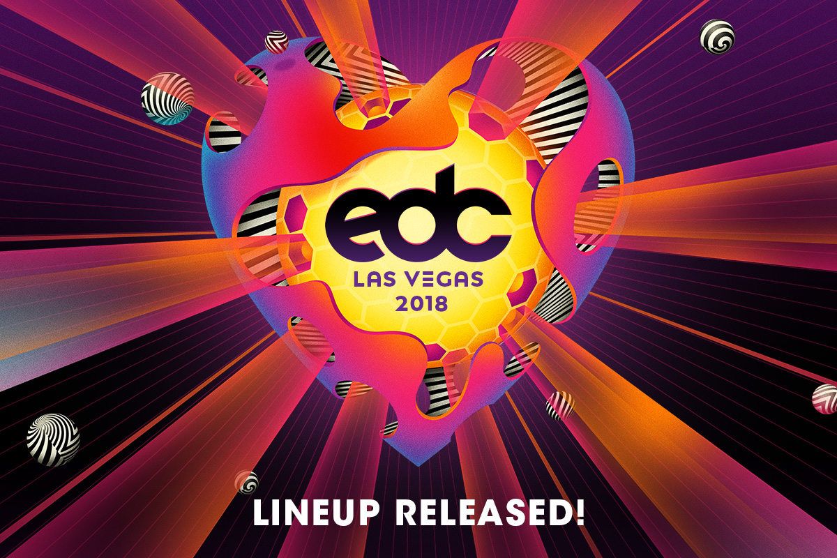 The EDC Las Vegas 2018 Lineup Is Here!