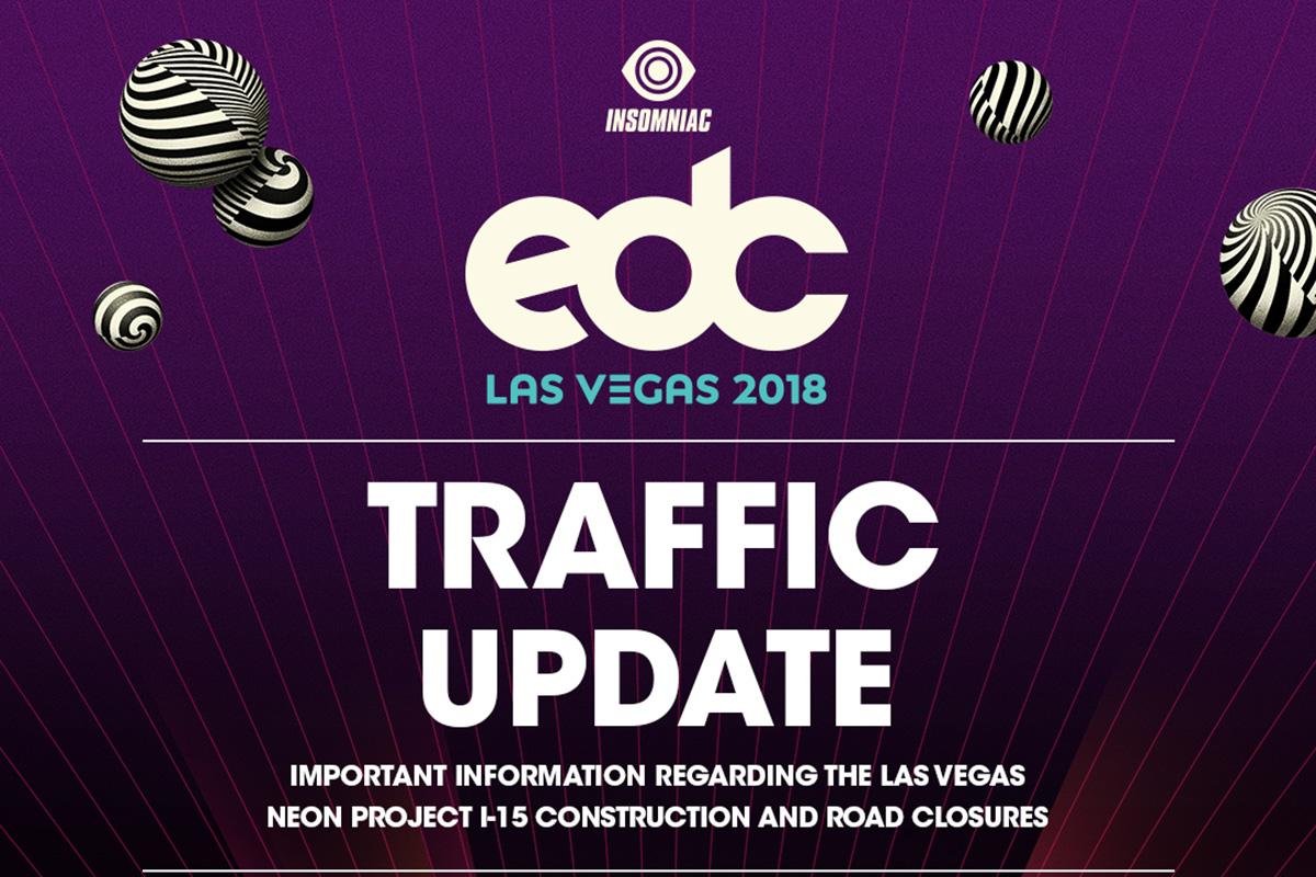 Important EDC Las Vegas Traffic Update
