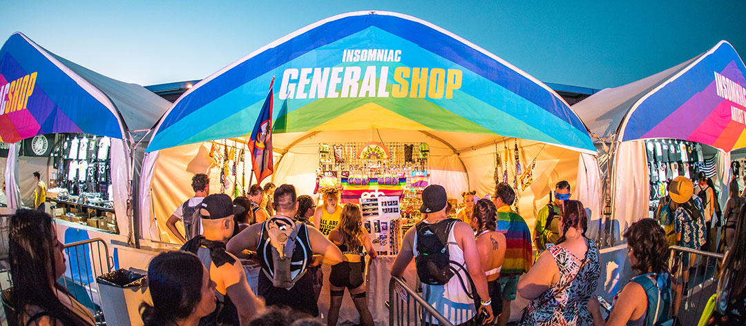 General Shop tent