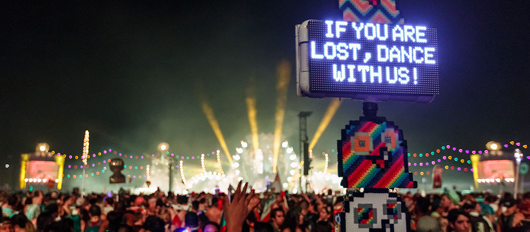 """If you are lost come dance with us"" totem"