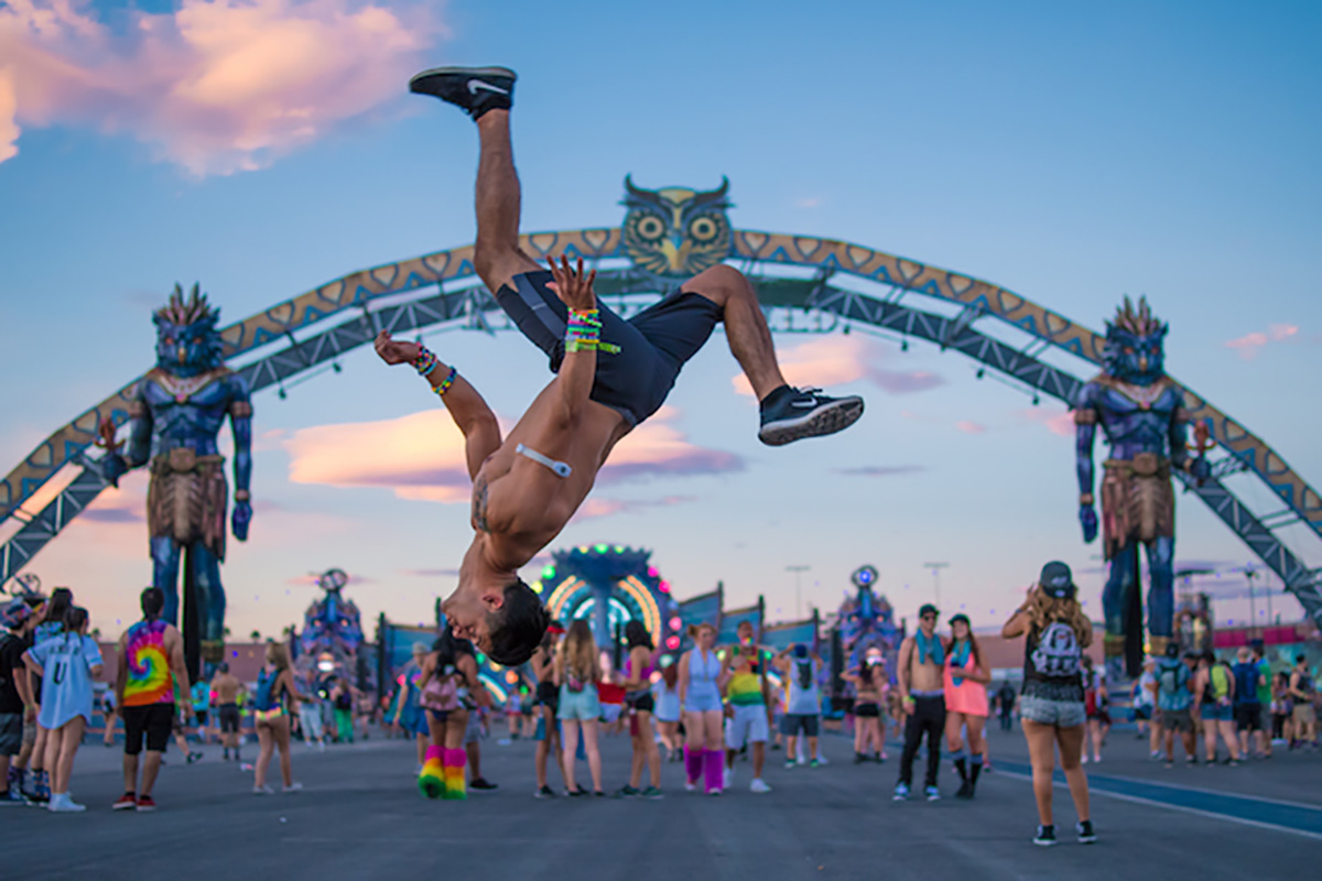 The Sounds of EDC Las Vegas: Throwbacks