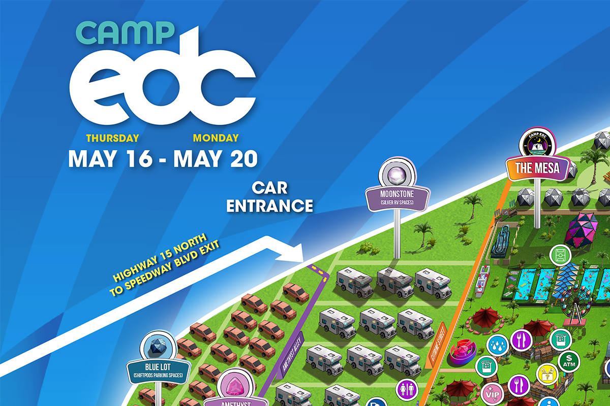 Scope Out the Camp EDC & Mesa Map