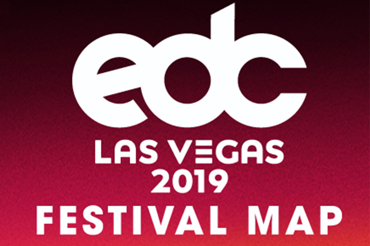 Find Your Way With the EDC Las Vegas Festival Map