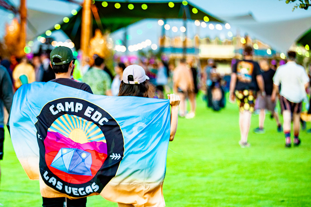 Camp EDC flag