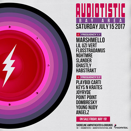 Audiotistic Bay Area 2017 key art