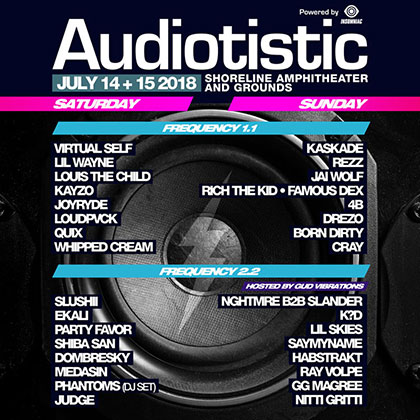 Audiotistic Bay Area 2018 key art