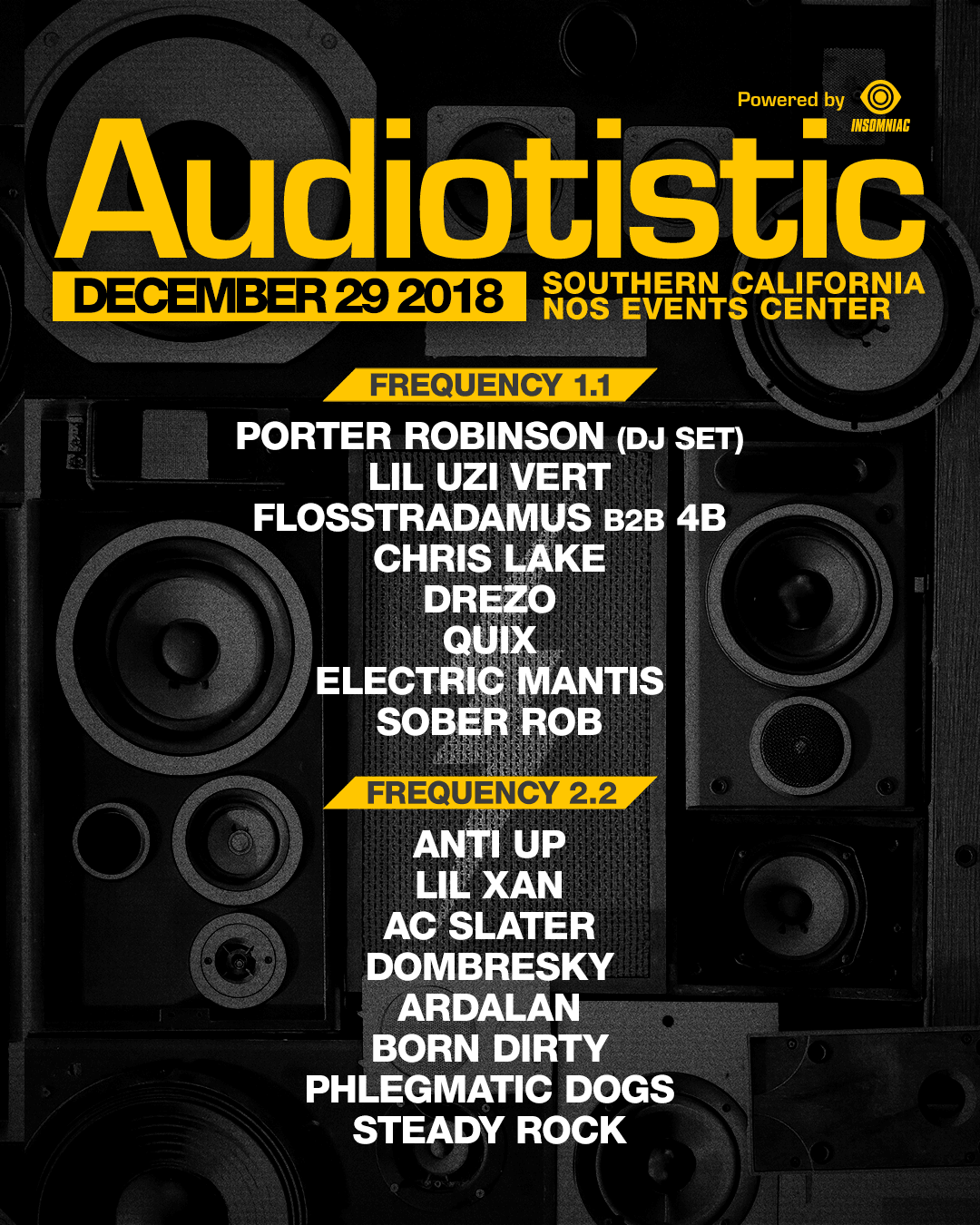 Audiotistic Socal 2018 Lineup!