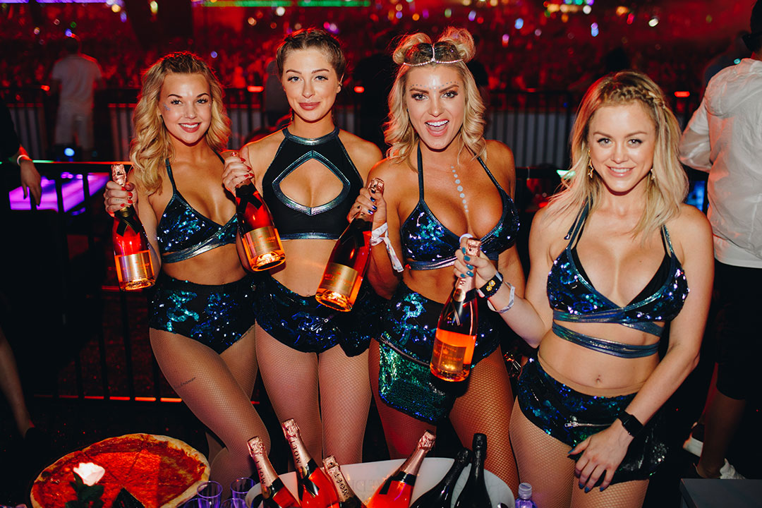 Bottle service girls