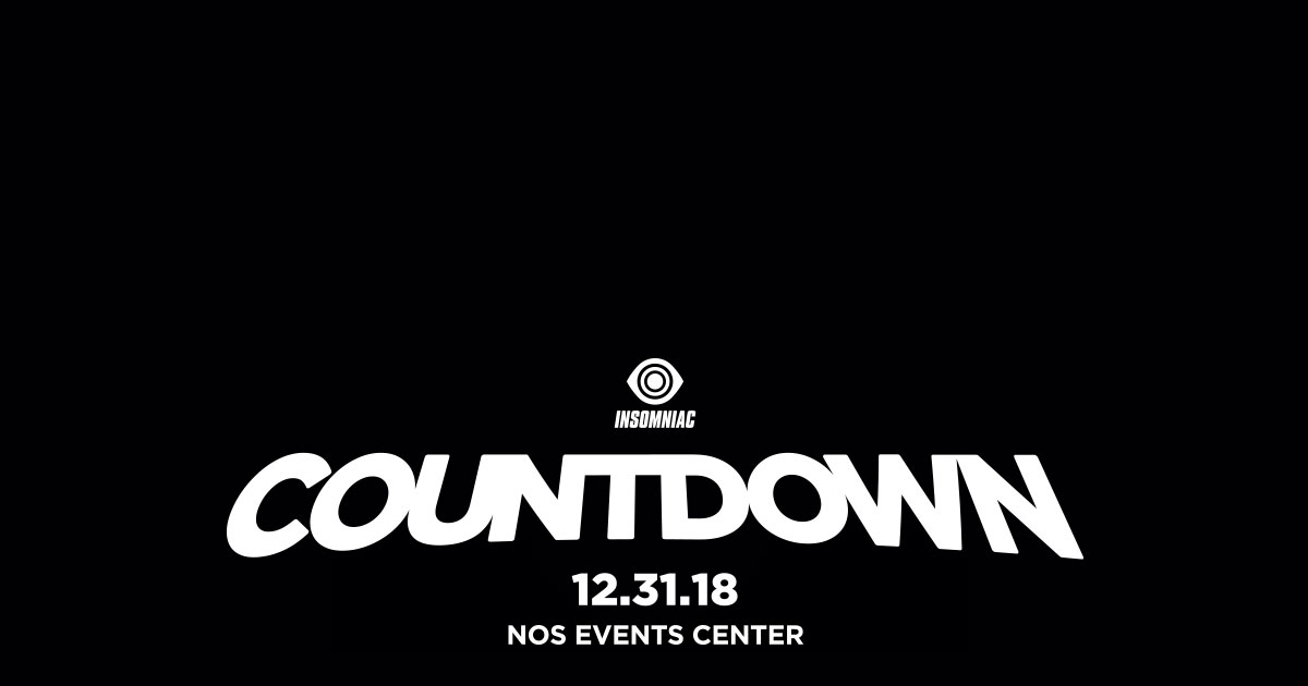 Countdown NYE | December 31, 2018 | NOS Events Center