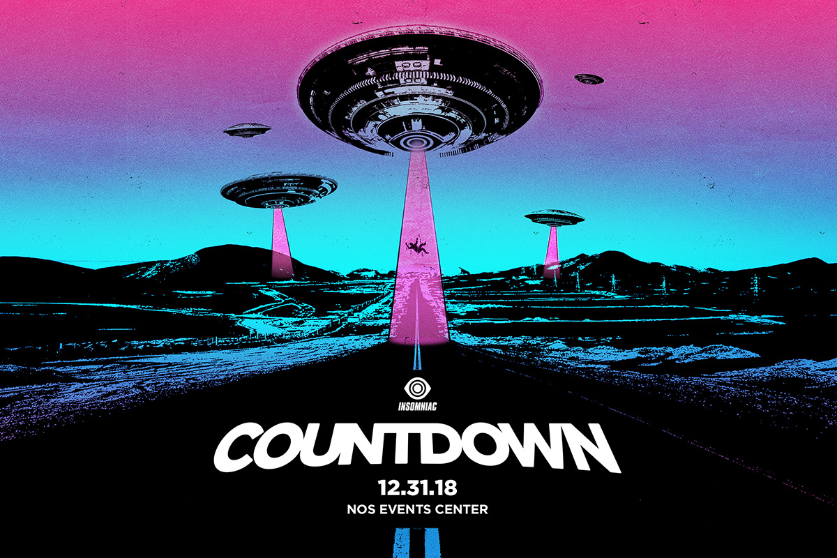 Close Out the Year at Countdown 2018 in SoCal This New Year's Eve
