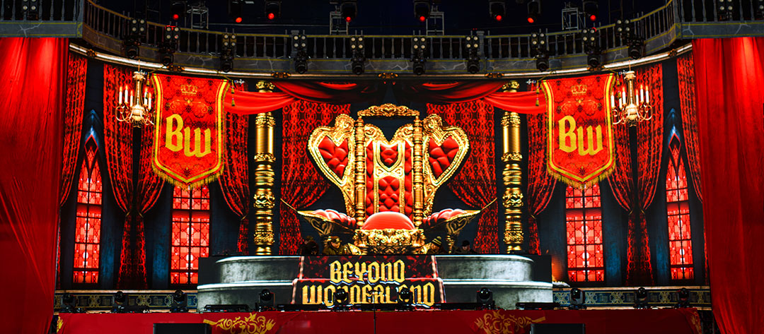 Royal stage graphics