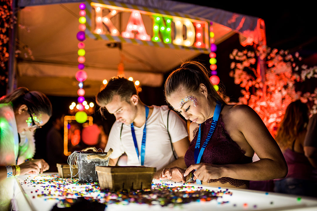 Headliners making kandi