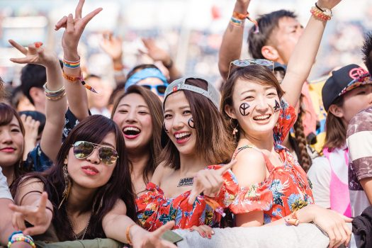 Headliners wear temporary tattoos of their favorite EDC artists