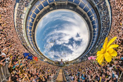 A fish-eye view of kineticFIELD