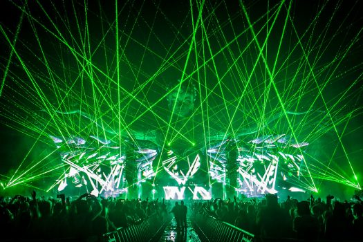 Green lasers at kineticGAIA