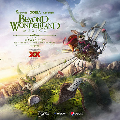 Beyond Wonderland 2017 key art